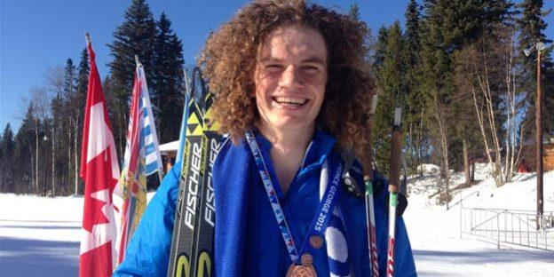 Jules Burnotte Athlète ski canada