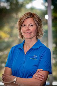 Chantal Audet, Infirmière en podologie